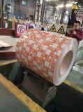 La alta calidad prepintó la bobina de acero galvanizada PPGI en el nuevo diseño