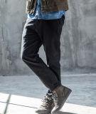 Sprung-Herbst-Bleistift-Jeans-Hose der kundenspezifischen dünnen Form-Freizeit-Ebenen-Männer