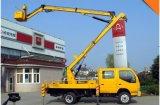 Piattaforma di sollevamento idraulica montata camion