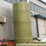 Tanque químico de FRP GRP, tanque de pressão do grande diâmetro