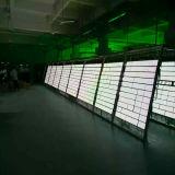 Painel / tela de LED de cor única semi-exterior P10
