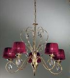 Candelabro de cristal da lâmpada da decoração quente da HOME da venda (1010426)