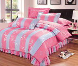 Ensemble de literie imprimé à la mode Home / Hotel Textiles 4PCS Bedding Set