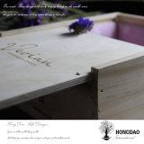 Rectángulo de torta de madera de Hongdao con la maneta