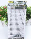 Стикеры Rhinestone тела 6mm кристаллический стикера стикеров 10*20cm самоцвета декоративные (TS-543)