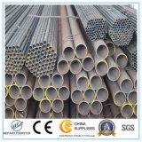 Pipe et tube plongés chauds soudés différents d'acier du carbone de taille
