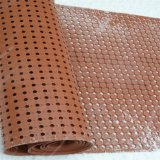 Estera de goma del drenaje anti hueco del resbalón de la bobina/estera anti del caucho de la fatiga