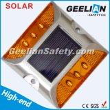 lumières solaires de goujon de route de 75mm DEL avec le contrôle de lumière du soleil