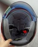 Популярный открытый шлем мотоцикла/самоката стороны для повелительницы (OP210)