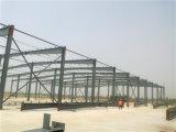 Oficina pré-fabricada do aço estrutural de grande extensão (ZY107)