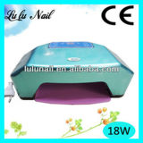 diodo emissor de luz Lamp UV de 18W Professional Two Hands Nail Gel