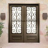 Klassischer Innenentwurfs-kundenspezifische dekorative Eisen-Haustüren