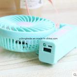 Miniventilator-faltender Ventilator-Miniventilator USB-nachladbarer kleiner Ventilator mit Handventilator-Geschenk