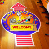 Windows Cling, Car Decal, 상점을%s Floor Decal Graphic Window Sticker