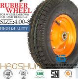 Hand-LKW-Reifen-Laufkatze-Reifen-pneumatischer Eber-Gummirad-Gummireifen 4.00-8