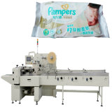 Baby descartável Diaper Machine para Nappies Diapers Packaging Machine