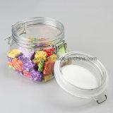 160z Pet Plástico hermético tarro de helado, Plástico Gelato Container Jar (PPC-57)