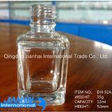 Bottiglia quadrata del polacco di chiodo della cristalleria per cura personale