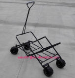 All Terrain Outdoor Beach Camping Cart, vagão dobrável