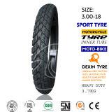 La motocicleta parte el neumático genuino de la motocicleta del neumático de la motocicleta del camino 2.50-17
