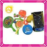 بلاستيكيّة مزلاج كرة مع كلاب & أنشوطة [بلّ غم] لعبة