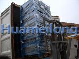 折る金網のケージの倉庫の金属の低い台