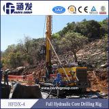 Tipo strumentazione Drilling idraulica piena del cingolo del pozzo d'acqua della mano