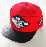 tampão bordado 3D do camionista do chapéu da forma da cidade do chapéu do Snapback