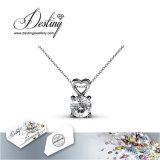 Het Kristal van de Juwelen van het lot van de de Zoete Tegenhanger & Halsband van de Liefde Swarovski