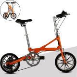 14 Geschwindigkeits-Aluminiumlegierung X-Form des Zoll-7 mini Pocket Fahrrad