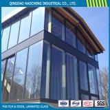 Vidrio laminado templado claro del precio competitivo para el vidrio del edificio