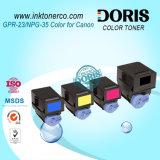 Toner riutilizzabile Premium compatibile IR C2550 C2880 C3080 C3380 C3480 della m/c di colore della cartuccia di toner Gpr23 C-Exv21 Npg35 per Canon Irc3380