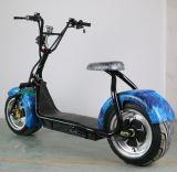 """""""trotinette"""" elétrico barato da mobilidade de Dogebos, dois """"trotinette"""" elétrico grande de Citycoco 1200W 60V Harley das rodas"""