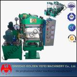 Rahmen-Typ Platten-hydraulische Gummimaschine, Vorlagenglas-Presse