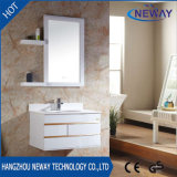 ミラーが付いているシンプルな設計PVC浴室の流しのキャビネット