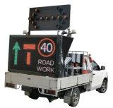 Indicador video montado reboque do diodo emissor de luz da matriz cheia ao ar livre do indicador de diodo emissor de luz P10