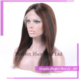 Migliore parrucca piena cinese calda di vendita del merletto dei capelli umani dei prodotti