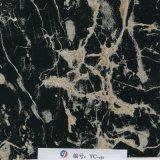 Yingcai 1m Breiten-Schwarz-Ader-Marmor flüssige Imag Drucke