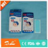 Fornitore cinese di rilievi di raffreddamento di febbre del bambino della zona del gel