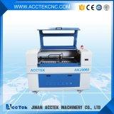 Автомат для резки 6090 лазера СО2 высокой точности миниый