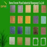 PVC膜MDFのワードローブのドア