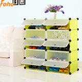 Heißer Fach-Schuh-Schrank des Verkaufportable-3 mit reizendem Entwurf und Farbe