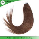 Fita nova da qualidade superior da chegada da cor da forma em extensões do cabelo