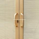 Раздвижная дверь/открыть дверь французской двери/нажима с между стеклянными штарками