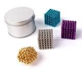 216PCS 3mm Magneten van de Parels van de Gebieden van de Kubus van het Nikkel van de Ballen van het Neodymium de Magnetische Neo Magische