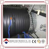 Riga d'acciaio di plastica della macchina di produzione dell'espulsione del tubo di bobina del PE