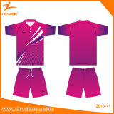 De Healong camisas Sublimated Digital do Badminton o mais tarde