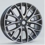 Le véhicule en aluminium borde la roue d'alliage pour VW d'Audi de benz de BMW