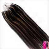 Новой уток кожи кольца волос способа связанный рукой микро-