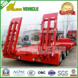 3 BPW Axles Hydraulic Rotary Axis Low Bed Trailer